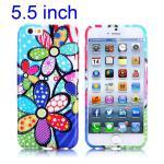 Silikon Case Muster 44 für Apple iPhone 6 Plus 5.5 Hülle Cover Schutz Zubehör