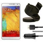 2in1 Zubehör SET KFZ Halterung für Samsung Galaxy Note 3 N9000 N9005 + Ladekabel