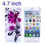 Silikon Case Muster 3 für Apple iPhone 6 4.7 Hülle Cover Schutz Zubehör Kappe