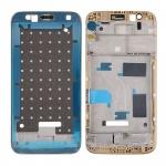 Gehäuse Rahmen Mittelrahmen Deckel kompatibel für Huawei G8 Gold