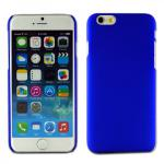 Hardcase Rubber Blau für Apple iPhone 6 4.7 Case Cover Zubehör Hülle Günstig