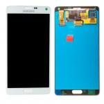 Display LCD Komplettset GH97-16565A Weiß für Samsung Galaxy Note 4 N910F Ersatz