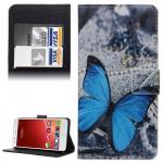 Schutzhülle Muster 45 für ZTE Blade S6 Bookcover Tasche Hülle Wallet Case Cover