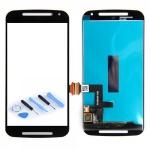 Display Full LCD Komplett Einheit für Motorola Moto G2 XT1068 Reparatur Schwarz