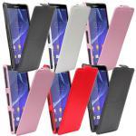 Fliptasche Style für viele Sony Xperia Modelle Tasche Case Hülle Etui Zubehör