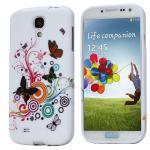 Silikoncase für Muster 2 Samsung Galaxy S4 i9500 i9505 LTE + Displayschutzfolie