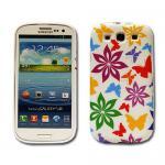 Schutz Silikon Gemustert 31 für Samsung Galaxy S3 i9300 Hülle Cover Case + Folie
