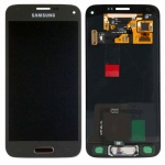 Full Display LCD Komplettset GH97-16147D Gold für Samsung Galaxy S5 Mini G800F