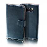Schutzhülle Schwarz für Huawei P9 Plus Bookcover Tasche Hülle Wallet Case Flip