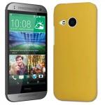 Exklusives Schutzcover für HTC One Mini 2 M5 Edel Hülle Cover Case gelb