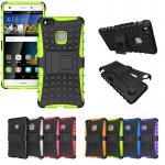 Hybrid Case 2teilig Outdoor Grün für Huawei P9 Lite Tasche Hülle Cover Schutz