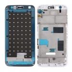 Gehäuse Rahmen Mittelrahmen Deckel kompatibel für Huawei G8 Weis