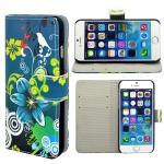 Wallet Tasche Motiv Muster 21 für Apple iPhone 6 4.7 Tasche Hülle Zubehör Case