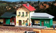 Auhagen H0 11331: Bahnhof Hohendorf