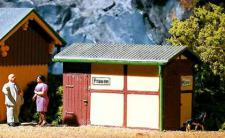 Auhagen H0 11336: Bahnhofstoilette