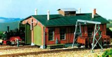 Auhagen H0 11355: Lokschuppen für Schmalspurbahnen
