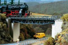 Auhagen H0 11365: Fachwerkbrücke