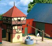 Auhagen H0 11410: Taubenschlag mit Brunnen