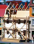 Auhagen H0, TT 12270: Stadthaus in Renovierung