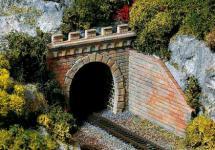 Auhagen TT 13276: 2 Tunnelportale, eingleisig