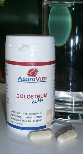 Colostrum Kapseln 60 Stck a 495 mg - Vorschau 1