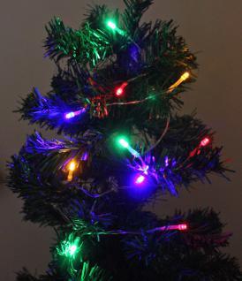 3er Set LED-Lichterkette mit je 10 bunten Leuchten, Batteriebetrieb, Dekoration