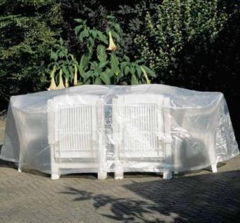 Möbelschutzhülle Schutzhülle für Sitzgruppe Gartengarnitur oval