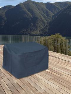Schutzhülle für Gartenbank Schutzhaube Abdeckung Hülle anthrazit 160x80x80 cm
