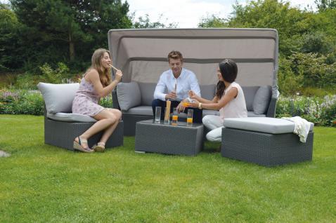 Loungeset 6-teilig, Wohnset, Sitzgruppe, Gartenmöbel, Gartenlounge, Terrasse
