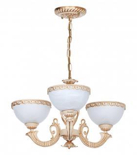 Pendelleuchte klassisch im Landhausstil 3-flammig, Hängelampe, Leuchte, Lampe