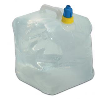 Wasserkanister 15 L faltbar Camping Kanister Behälter Trinkwasser Faltkanister