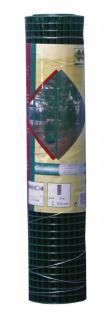 Drahtgitter, Zaun, Maschendraht 19 x 19 mm , 1, 40 mm , 500 mm grün Rolle 5m