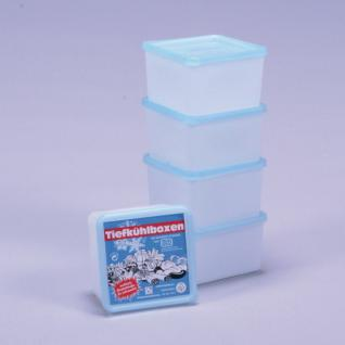 Gefrierdosen, Frischhaltedosen, Tiefkühldosen, Aufbewahrungsdosen, Set 5er, 0, 8 l