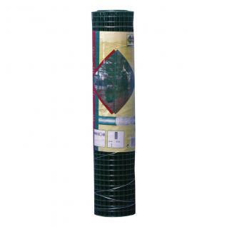 Drahtgitter, Kaninchendraht, Maschendraht 12, 7 x 12, 7 mm, 1, 10 mm , 500 mm grün