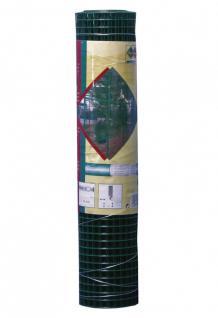 Drahtgitter, Zaun, Maschendraht 19 x 19 mm , 1, 40 mm , 1000 mm grün Rolle 5m