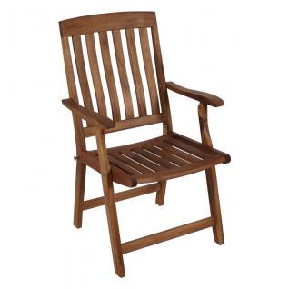 Klappsessel Akazie FSC 100 Holz Garten Stuhl Sessel Klappstuhl Terrasse