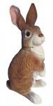Dekofigur Hansi Hase Feldhase Rammler Kaninchen Gartendeko Osterdeko 38 cm NEU