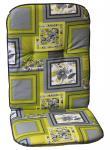 Sesselauflage 100 x 50 x 5, 5 cm, Auflage für Gartenstuhl, Gartenstuhlauflage
