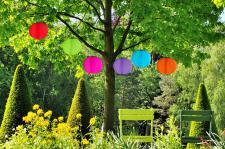 Solar Lampions, Gartenlampion, Partylaterne, Ø 30 cm, versch. Farben wählbar