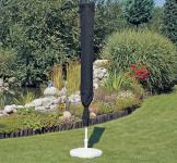 Schutzhülle Abdeckung für Landhausschirm Sonnenschirm Ø 300cm anthrazit