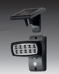Solar LED Strahler Spot Solarleuchte Solarstrahler mit IF-Bewegungsmelder NEU