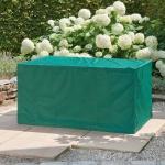 Möbelschutzhülle Abdeckung Gartenmöbel mit Zugband grün 123 x 78 x 64 cm