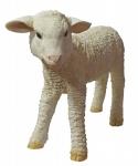 """Dekofigur Lamm """" Lotti"""" stehend Gartendeko Tierfigur Schaf Lämmchen 36 cm NEU"""
