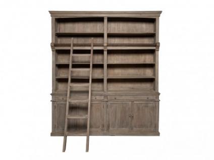 Bibliothek Holz massiv Souveran
