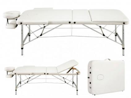Mobile Massageliege Julia - Elfenbein