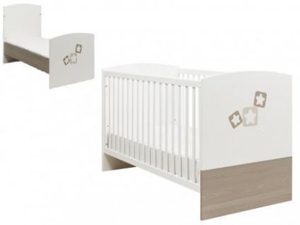 Babybett Kinderbett Estera - Höhenverstellbar