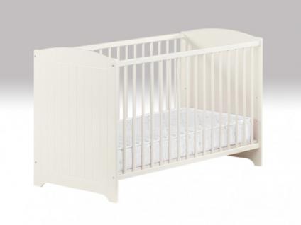 Babybett Kinderbett Emmy - Weiß