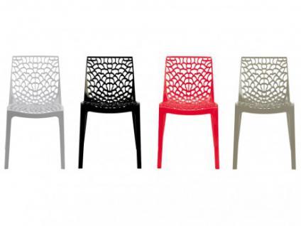 Stuhl 2er-Sets Diadem - Kunststoff - Grau