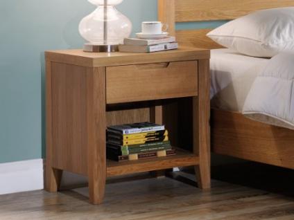 Nachttisch Holz CHAMBARAN - Eiche geölt