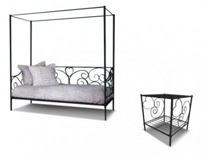 nachttisch schwarz metall g nstig kaufen bei yatego. Black Bedroom Furniture Sets. Home Design Ideas